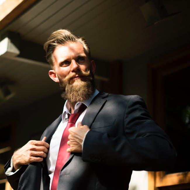 Stilig Man Kostym